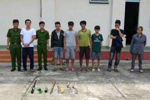 Tây Ninh: Triệt phá băng nhóm chuyên cho vay lãi nặng