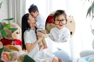 Con trai 8 tháng tuổi, nữ diễn viên Nguyệt Ánh mới cho con lộ mặt vì lý do này