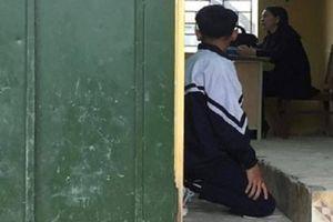 Tranh cãi chuyện phạt quỳ học sinh của cô giáo Hà Nội