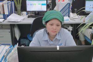 Chị Tạ Thị Bắc nữ công nhân 'hai giỏi'