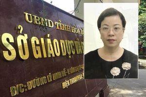 Bắt tạm giam thêm một nữ phó trưởng phòng trong vụ gian lận điểm thi ở Hòa Bình