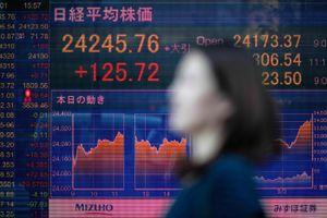 Chứng khoán Tokyo liên tục đi xuống do xung đột thương mại Mỹ-Trung