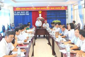 Đoàn ĐBQH tỉnh Khánh Hòa giám sát giảm nghèo giai đoạn 2016 – 2020 tại Khánh Vĩnh