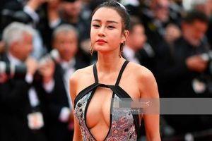 'Mỹ nhân Kung Fu' Trung Quốc gây tranh cãi vì mặc táo bạo trên thảm đỏ