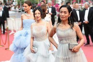 Loạt phụ nữ vô danh mặc thảm họa tại LHP Cannes 2019