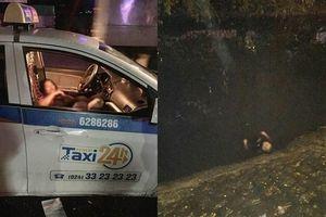 Người đàn ông đâm gục nữ tài xế taxi rồi tự đâm mình: Do ghen tuông