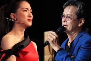 Hòa Minzy khóc nức nở khi bị nhạc sĩ Đức Huy chê cách chọn bài cho thí sinh