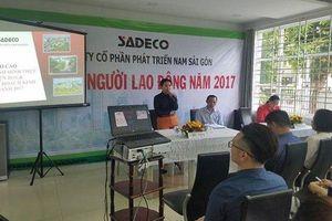 Khởi tố, bắt tạm giam Tổng giám đốc Sadeco Hồ Thị Thanh Phúc