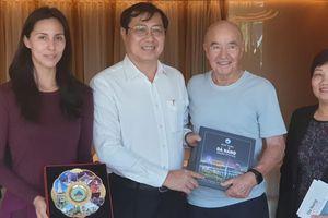 Tỷ phú Joe Lewis đề cập khả năng đầu tư bến du thuyền tại Đà Nẵng
