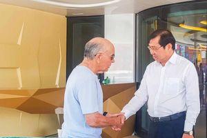 Tỉ phú Anh viết gì trong thư gửi ông Huỳnh Đức Thơ khi du thuyền rời Đà Nẵng?