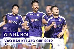 Thắng dễ Tampines Rovers 2-0, Hà Nội vào bán kết AFC Cup khu vực ĐNÁ