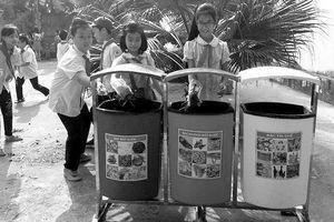 TP Thái Nguyên: Nỗ lực phân loại rác tại nguồn để cải thiện môi trường