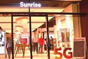 Ra mắt điện thoại 5G đầu tiên tại Thụy Sĩ