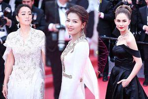 Củng Lợi, Lưu Đào sang trọng, nghệ sĩ vô danh bị đuổi khéo trên thảm đỏ Cannes