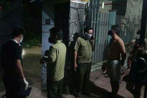 Phát hiện thi thể người trong thùng trộn chứa đầy bê tông