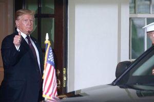Chứng khoán Mỹ tăng điểm mạnh trở lại khi được Tổng thống Mỹ trấn an