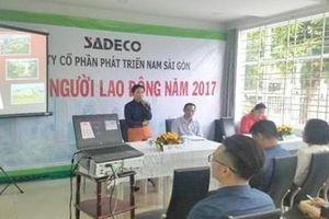 Phê chuẩn khởi tố, bắt tạm giam Tổng giám đốc Công ty Sadeco