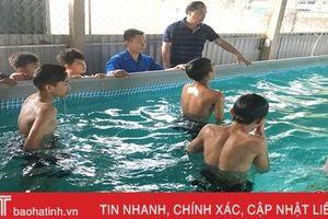 Ngăn chặn 'những cái chết oan' do đuối nước học đường ở Hà Tĩnh