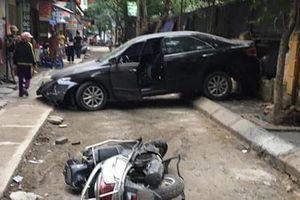SOS 'xe điên' gây tai nạn