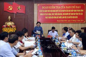 Điện Biên cần chú trọng bảo tồn, phát triển văn hóa dân tộc gắn với KT - XH