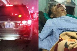 Sức khỏe nạn nhân bị thượng sĩ công an lái xe biển xanh tông giờ ra sao?