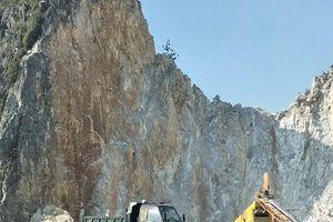 Hà Trung (Thanh Hóa): Xử phạt Doanh nghiệp Tân Hải vi phạm khai thác khoáng sản