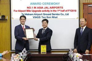 Công ty Dịch vụ mặt đất Việt Nam (VIAGS) nhận 3 giải thưởng từ Japan Airlines và Malaysia Airlines
