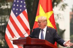 Ông Trump: 'Mỹ có thể mua hàng hóa từ một nước không bị áp thuế, như Việt Nam'