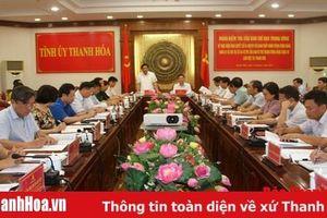 Đoàn kiểm tra của Ban Chỉ đạo Trung ương về thực hiện Nghị quyết số 24- NQ/TW và Chỉ thị số 45 – CT/TW làm việc tại Thanh Hóa