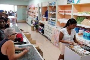 Cuba quay lại thời kỳ tem phiếu
