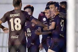 Vào sân phút 90, Xuân Trường giúp Buriram mở màn cho cuộc lội ngược dòng ngoạn mục