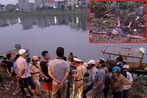 Nghi án cướp xe tải, nam thanh niên bỏ chạy rồi lao xuống sông