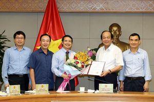 Phó Thủ tướng Vương Đình Huệ có tân Trợ lý