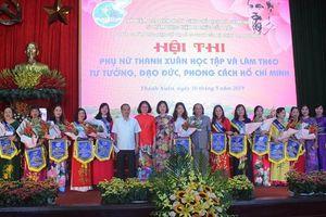 Phụ nữ quận Thanh Xuân học tập và làm theo gương Bác