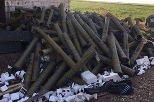 Chỉ có ở Syria:Tên lửa chống tăng bắn như đạn tiểu liên