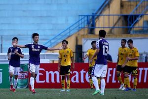 AFC Cup: Hà Nội FC và B. Bình Dương thẳng tiến