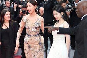 Lộ diện những mỹ nhân Hoa ngữ 'mặt dày' bám trụ thảm đỏ Cannes 2019