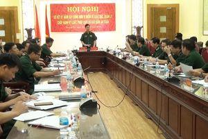 BĐBP Quảng Trị: Sơ kết xây dựng đơn vị điểm về giáo dục, quản lý chấp hành kỷ luật, pháp luật
