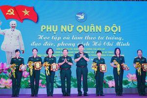 Phụ nữ Quân đội học tập và làm theo tư tưởng, đạo đức, phong cách Hồ Chí Minh