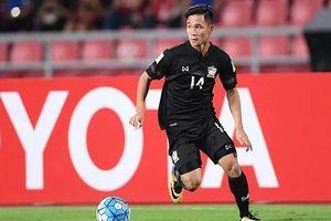 Vì sao tuyển Thái Lan loại 'sát thủ' 20 tuổi ở King's Cup 2019?