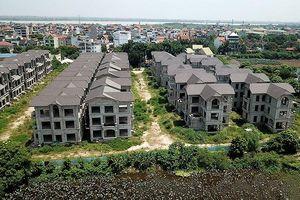 Thị trường bất động sản đang suy giảm