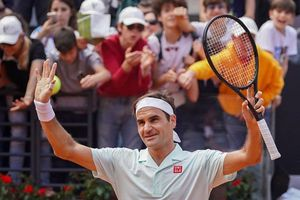 Federer, Nadal và Djokovic 'dắt tay nhau' vào vòng 3 Rome Masters