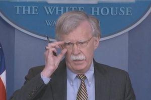TT Trump có ý định sa thải cố vấn an ninh 'diều hâu' Bolton?