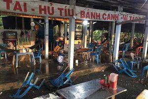 Khởi tố nhóm thanh niên đập phá quán ăn 'chặt chém' khách ở Long An