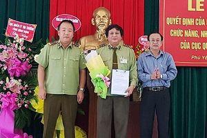 2 cục trưởng Quản lý thị trường địa phương đầu tiên được bổ nhiệm