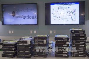 Cảnh sát châu Âu và Mỹ phối hợp triệt phá nhóm tội phạm mạng quy mô lớn