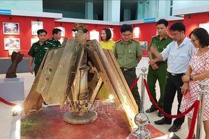 Trưng bày nhiều tài liệu, hiện vật về 'Đường Trường Sơn - Con đường huyền thoại'