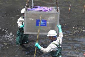 Hà Nội: Thí điểm làm sạch sông Tô Lịch với công nghệ nano