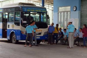 Nhân viên đình công, nhiều tuyến xe buýt Nha Trang tê liệt