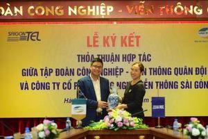 Saigontel và Viettel hợp tác xây dựng khu công nghiệp và đô thị thông minh